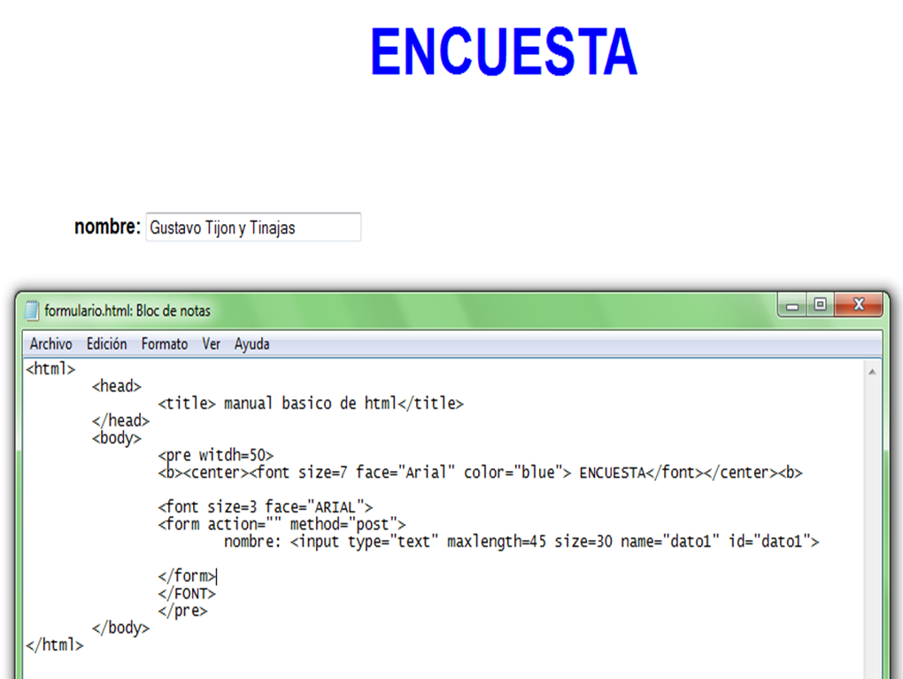Formularios HTML   Sistemasumma