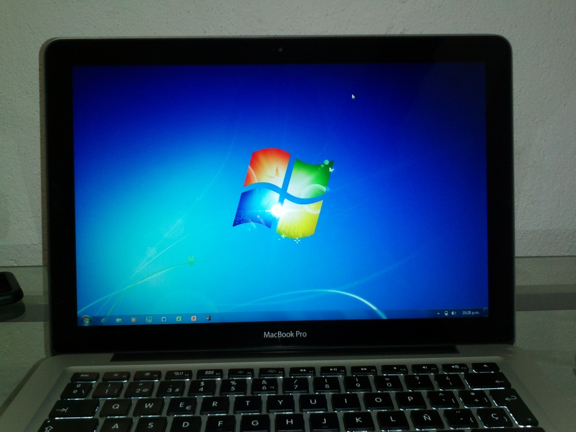 Macbook Pro con Windows mediante Bootcamp