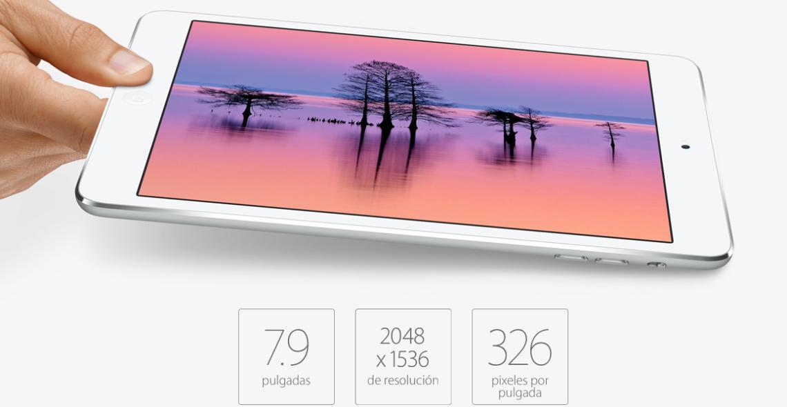 iPad Mini ahora con pantalla retina