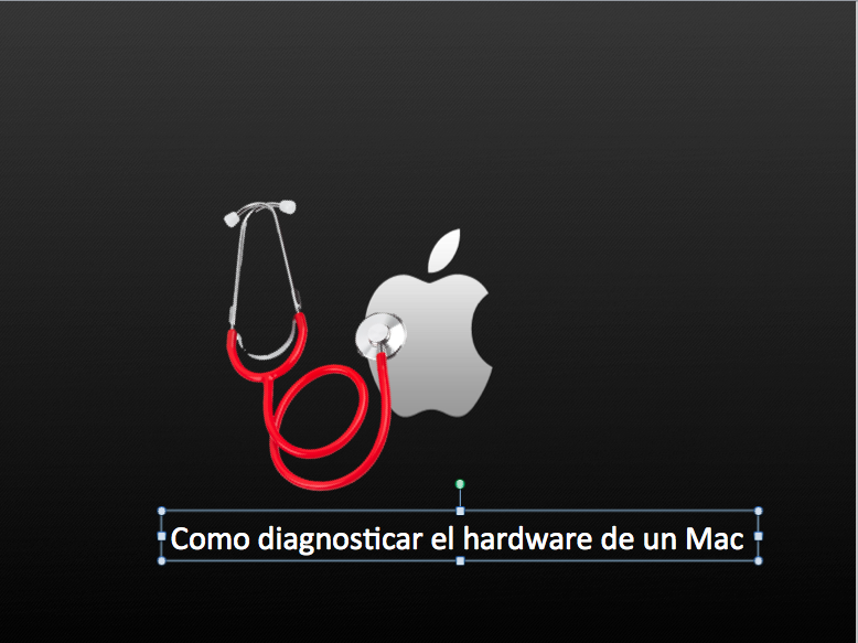 diagnosticar un Mac