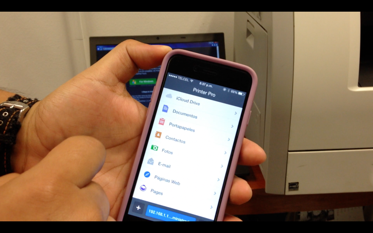 C 243 Mo Imprimir Desde Un Iphone A Una Impresora Usb
