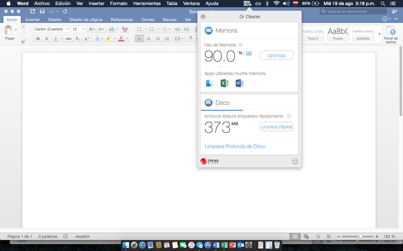 Office 2016 Devora La Ram De Tu Mac Sistemasumma