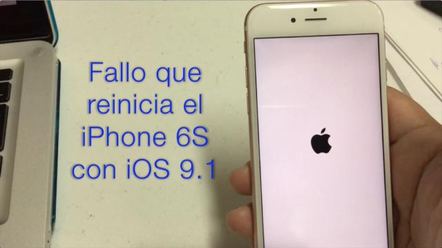 Fallo iOS 9.1