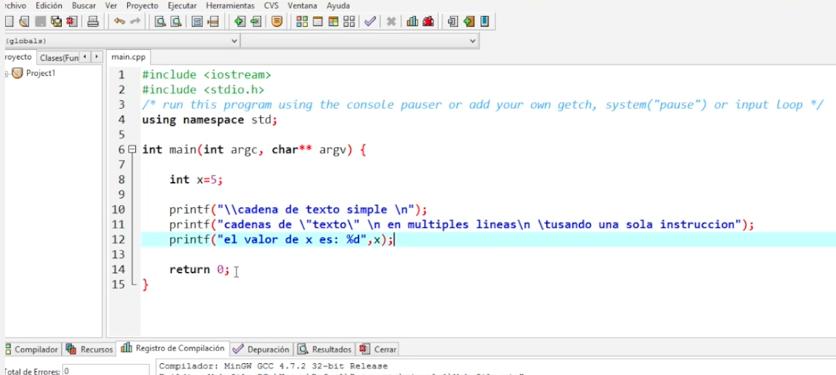 Programación En C 1 Estructura General Del Programa